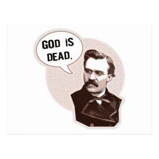 Dios es muerto (Nietzsche) Tarjeta Postal