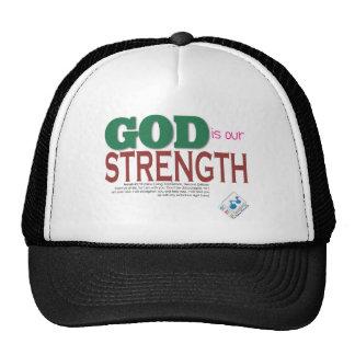 DIOS es nuestra fuerza Gorro
