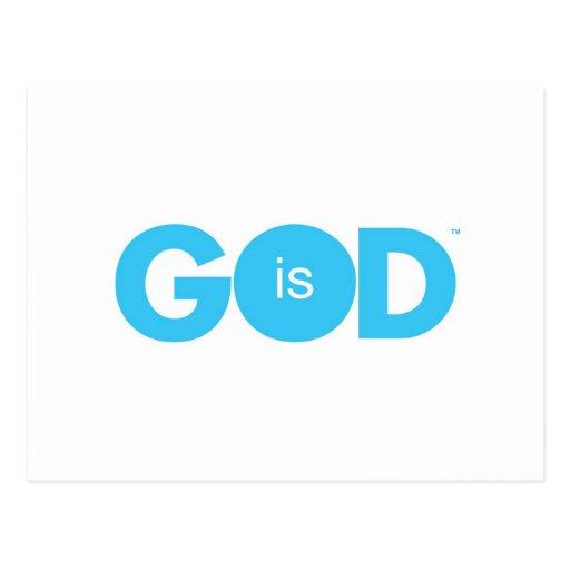 Dios es paz postales