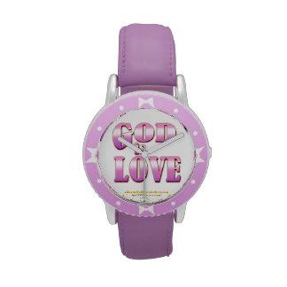 Dios es púrpura de Agrainofmustardseed.com del amo