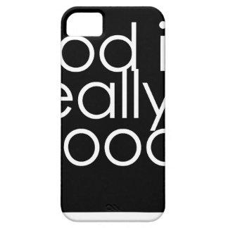 Dios es realmente bueno iPhone 5 funda