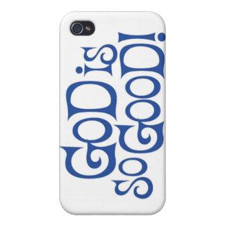 Dios es tan bueno - el caso duro FO de Speck® Fitt iPhone 4 Coberturas