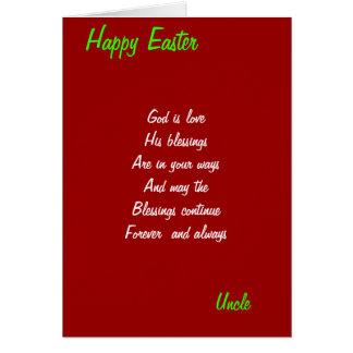 Dios es tarjetas de amor-tío pascua