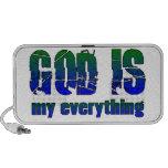 Dios es todo iPod altavoz