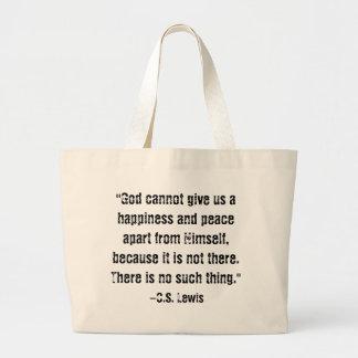 Dios es tote de la felicidad bolsa