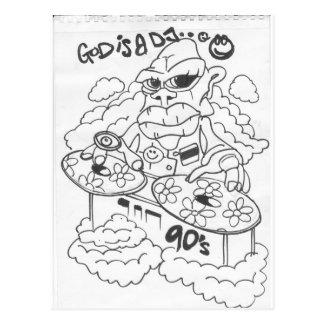dios es un dj_0005 postales