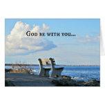 ¡Dios esté con usted hasta que nos encontramos otr Felicitacion