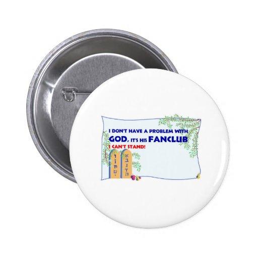 Dios FanClub Pins