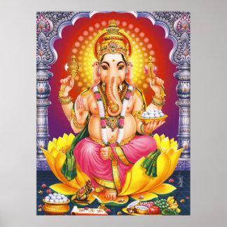 Dios Ganesha Póster