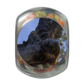 Dios griego jarrones de cristal