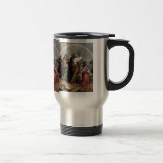 Dios hace una promesa a Noah Tazas De Café