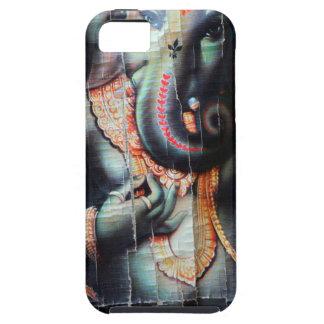 Dios hindú del éxito del elefante de Ganesha iPhone 5 Carcasa