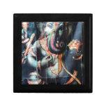 Dios hindú del éxito del elefante de Ganesha Caja De Recuerdo