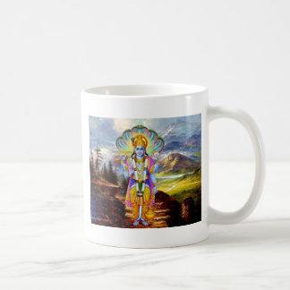 DIOS HINDÚ VISHNU TAZA DE CAFÉ