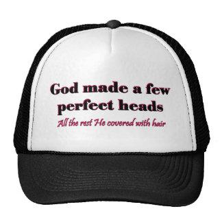 Dios hizo algunas cabezas perfectas gorro de camionero