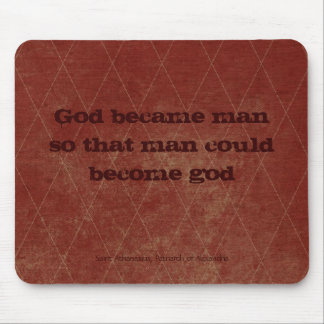 Dios hizo hombre. alfombrillas de ratón