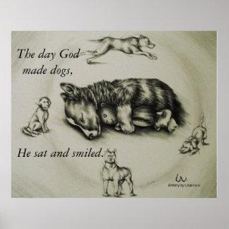 Dios hizo los perros - poster el dormir del perro