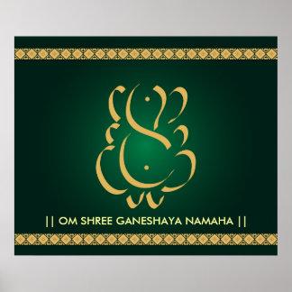 Dios indio Ganesha - poster