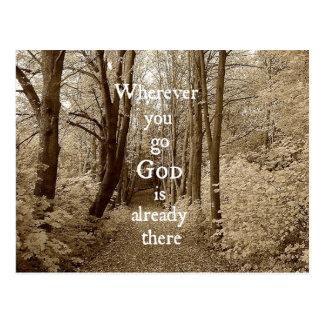 Dios inspirado es ya allí cita cristiana tarjetas postales