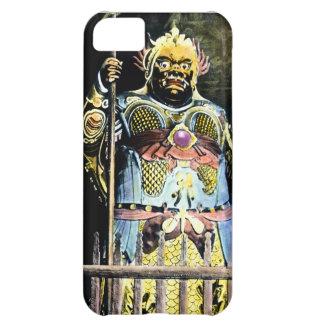 Dios japonés de Bishamon del vintage de la guerra
