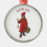 Dios julio con Brita - Felices Navidad de Carl Ornamentos Para Reyes Magos