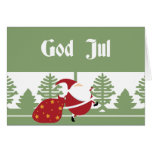Dios julio Santa Tarjeta