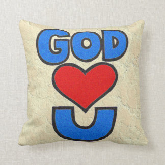 Dios le ama almohadas