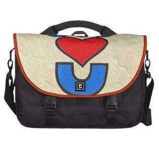 Dios le ama bolsas de portátil