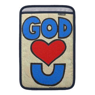 Dios le ama fundas MacBook