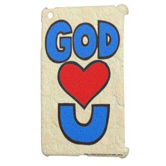 Dios le ama iPad mini fundas