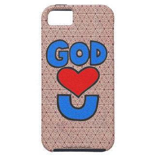 Dios le ama iPhone 5 carcasa