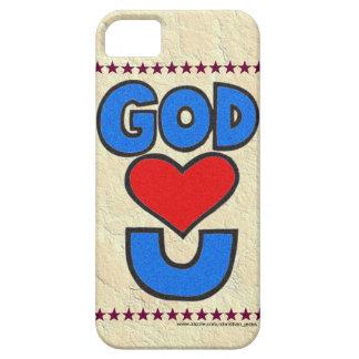 Dios le ama iPhone 5 Case-Mate cárcasa