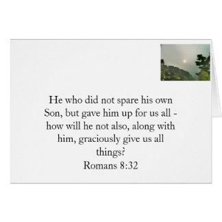Dios le ama tarjeta pequeña