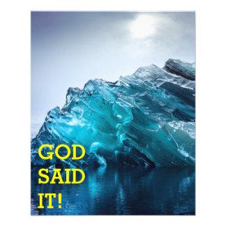 ¡Dios lo dijo! Flyer Personalizado