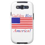 ¡Dios/los dess de Glowees bendice América!