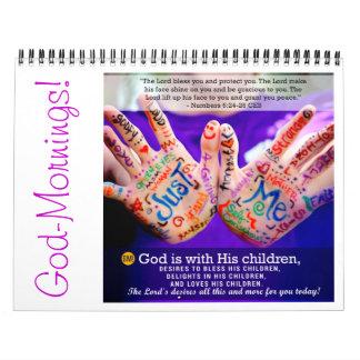 Dios-Mañanas: Calendario