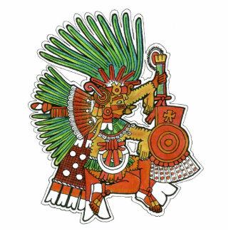 Dios maya de Tezcalipoca Imán Fotoescultura