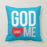Dios me ama cojin