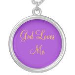 Dios me ama collar