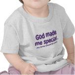 Dios me hizo especial camiseta