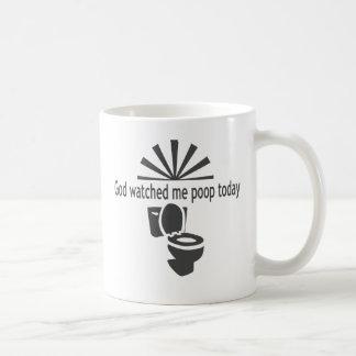 Dios me miró impulso hoy tazas de café