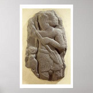Dios moabita de la tormenta, tierra antigua de Shi Póster