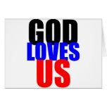 Dios nos ama felicitación