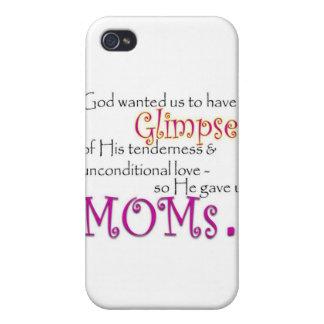 Dios nos dio mamáes iPhone 4 funda