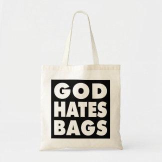 Dios odia bolsos bolsa tela barata