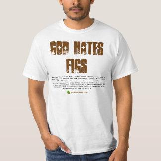 ¡Dios odia higos - es verdad! Playeras