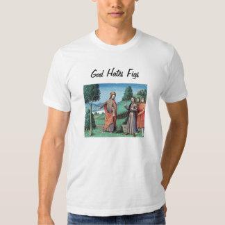 Dios odia higos playeras
