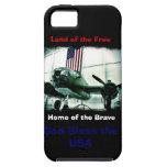 Dios patriótico bendice el caso del iPhone 5 de lo iPhone 5 Fundas