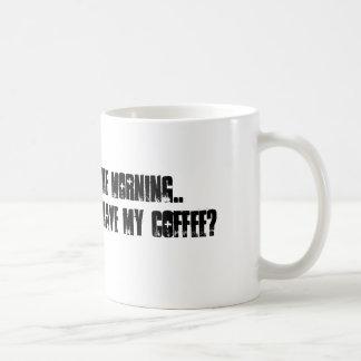 """""""Dios por taza de la mañana"""""""