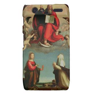 Dios que aparece a St Mary Magdalen y St. Catheri Motorola Droid RAZR Fundas